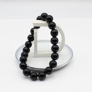 Jewelry - Black round bead bracelet